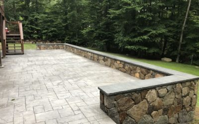 Wilton, CT – Stone & Brick Patios, Walkways, Outdoor Living Spaces
