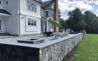 Norwalk, Wilton, CT – Retaining Walls   Retaining Wall Design and Construction   Decorative Stone Walls