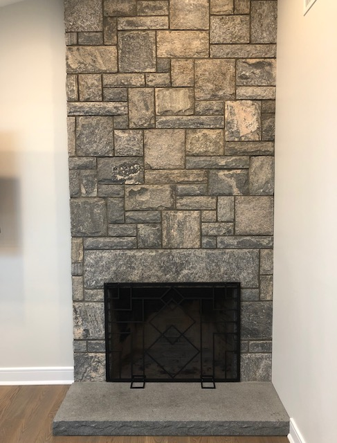 Wilton, CT – Stone Fireplace Installation – Custom Fireplace Construction in Norwalk, CT