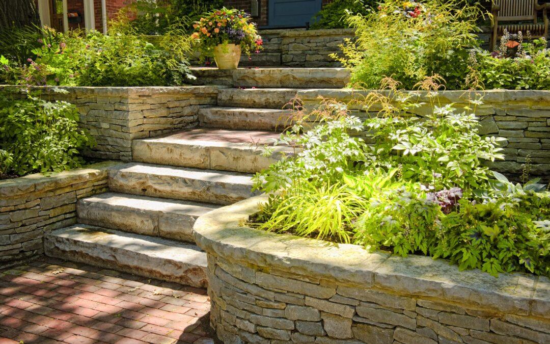 New Canaan, CT | Stone Retaining Walls | Stone Wall Masonry Construction | Masonry Contractor Near Me